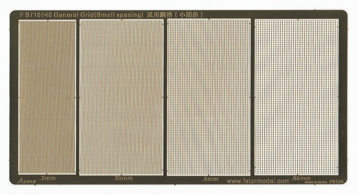 FS710140 1/700 General Grid (Small spacing)