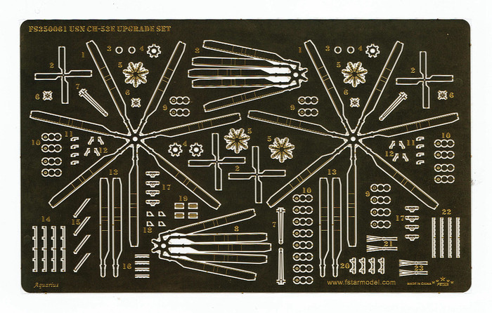 FS350061 1/350 USN CH-53E Upgrade set (4set) for Trumpeter 06257