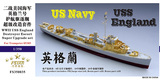 FS350035 1/350 WWII USS England Destroyer Escort Super Upgrade set for Trumpeter 05305