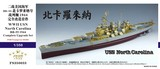 FS350033 1/350 WWII USN North Carolina BB-55 1944 Compelete Upgrade set for Trumpeter 05303