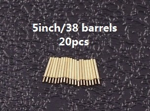 FS700019 1/700 WWII USN 5 inch/38 barrel  ( 20 pcs )