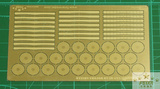 FS700008 1/700 WWII USN Quad Bofors Shield